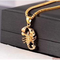Hip-Hop přívěsek Scorpion s řetízkem