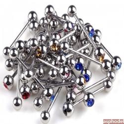Industrial činka - piercing do ucha (více barev)