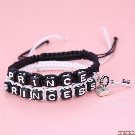 Náramky pro páry Prince a Princess