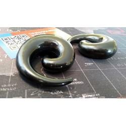 Akrylátový černý roztahovák 20mm