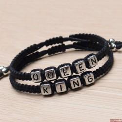 Náramky pro páry Queen a King (cena je za pár)