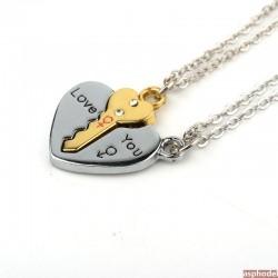 Partnerské náhrdelníky *I Love You*