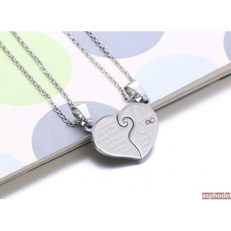 Luxusní náhrdelníky pro dva *I Love You*