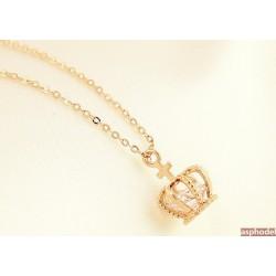 Luxusní náhrdelník ve tvaru princeznovské korunky